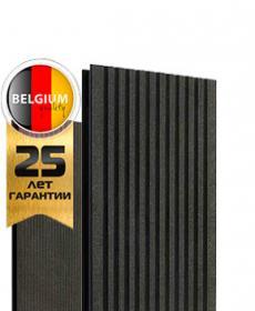Террасная доска дпк TWINSON O-TERRACE 9555 (Бельгия) цвет 502 лакрично-черный