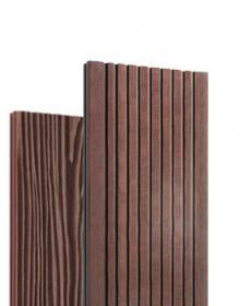 Террасная доска дпк полнотелая TR Solid (Россия) цвет венге/brown, 3-4 метра